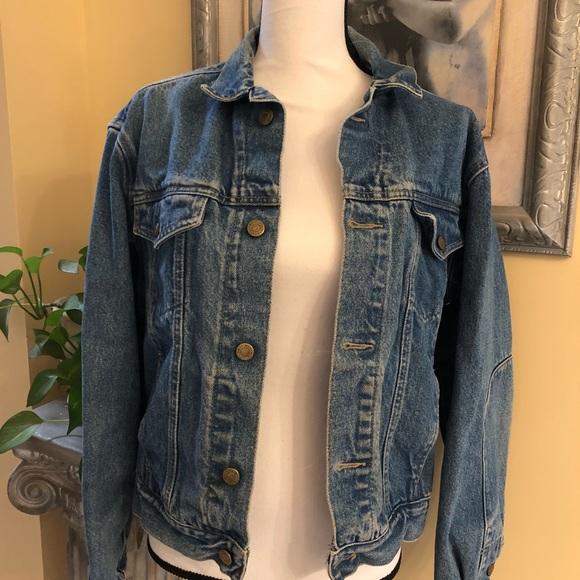 Calvin Klein Women's Size Medium Jean Jacket